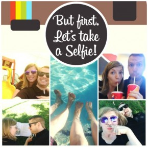 Adorable date night selfie scavenger hunt!