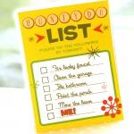 Sexy Honey Do List