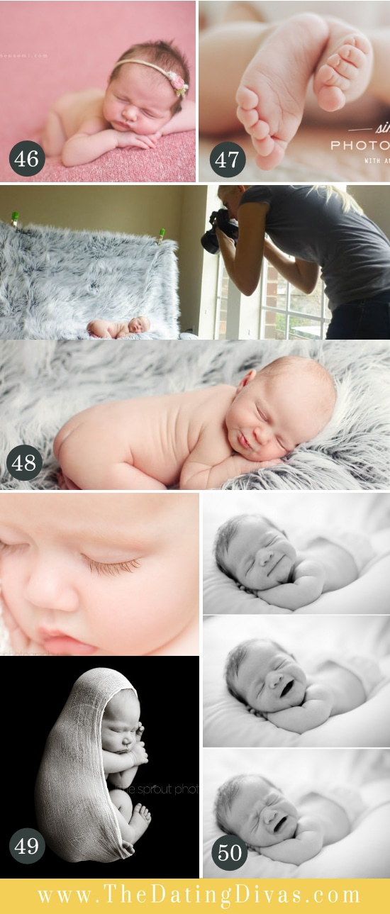Tips and Tricks for Newborn Photography