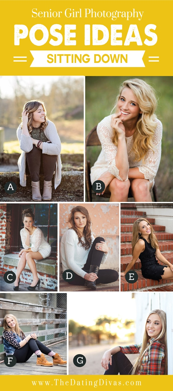 Senior Girl Photography Poses