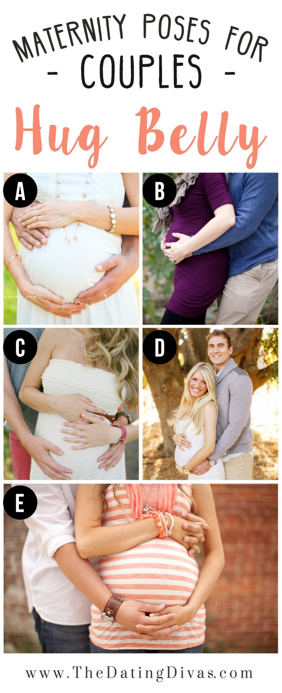Hand Hugging Belly Maternity Session Inspiration