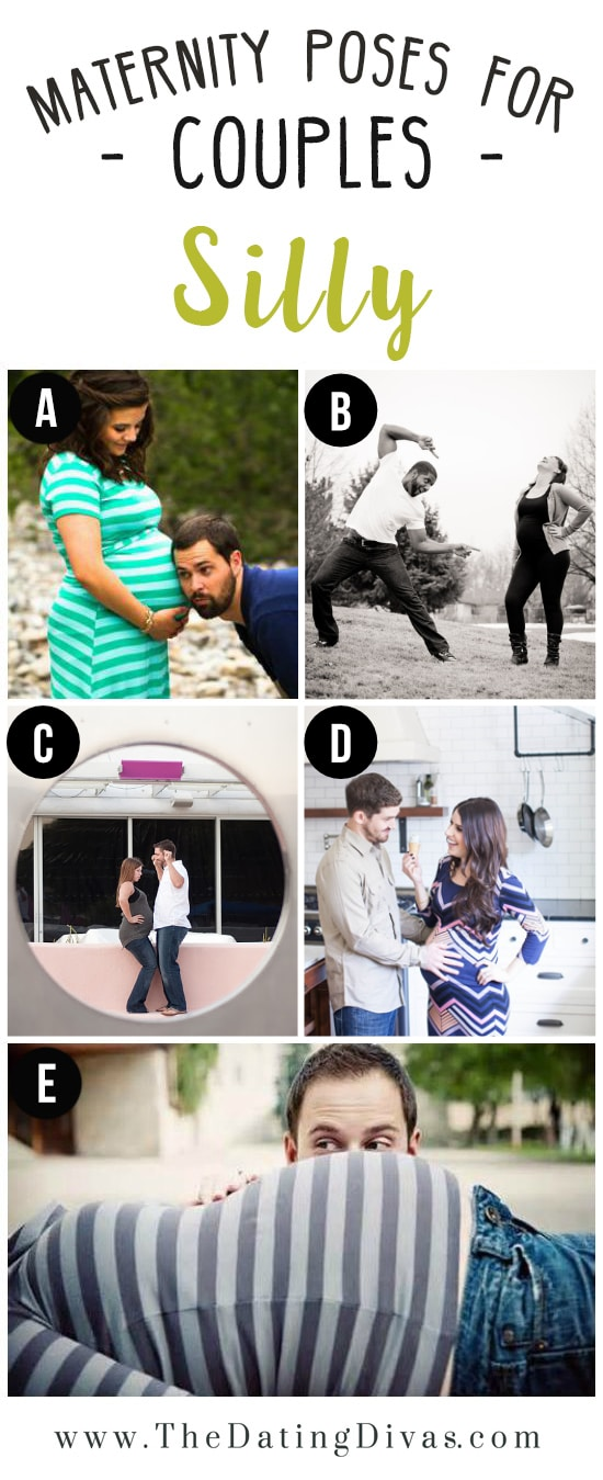Funny Maternity Picture Ideas For Couples