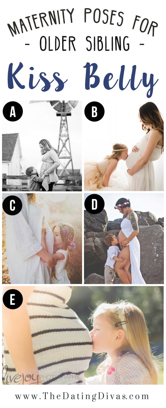 Pregnancy Photo Pose Ideas with Kids