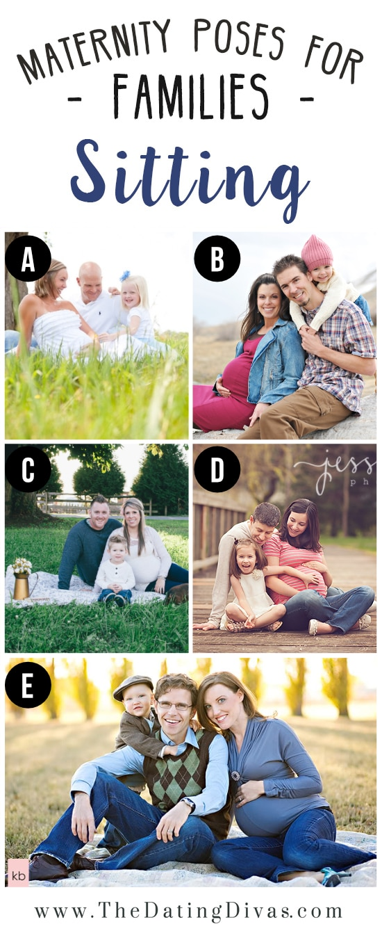 Whole Family Maternity photography Ideas
