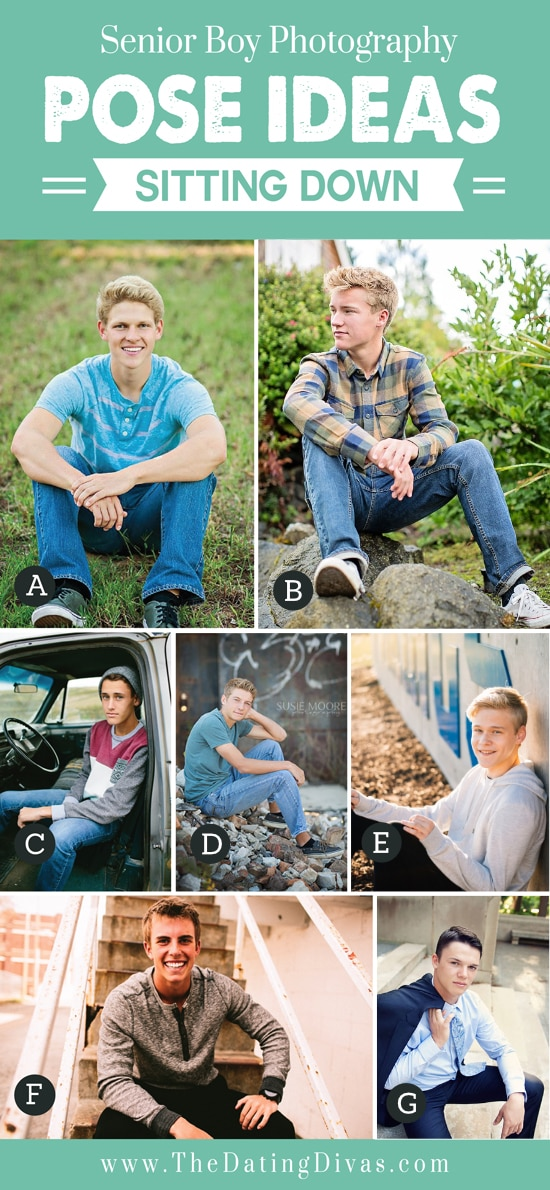 Senior Boy Photography Poses