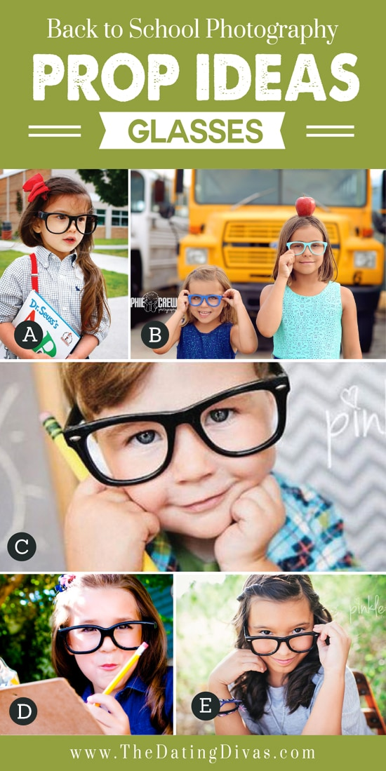 Glasses for Back to School Props