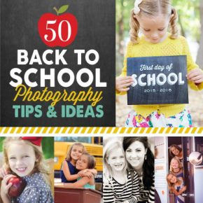 Back to School Photography Tips and Ideas