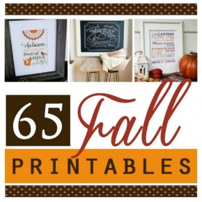 Printable Fall Decor