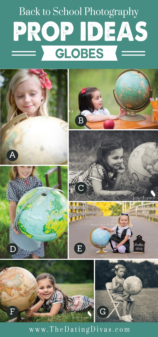 Globe for Back to School Props