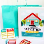 Babysitter Information Sheet and Activities Kit