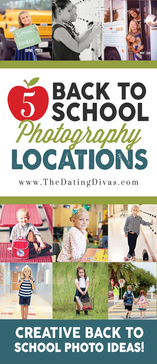 Back to School Photography Locations