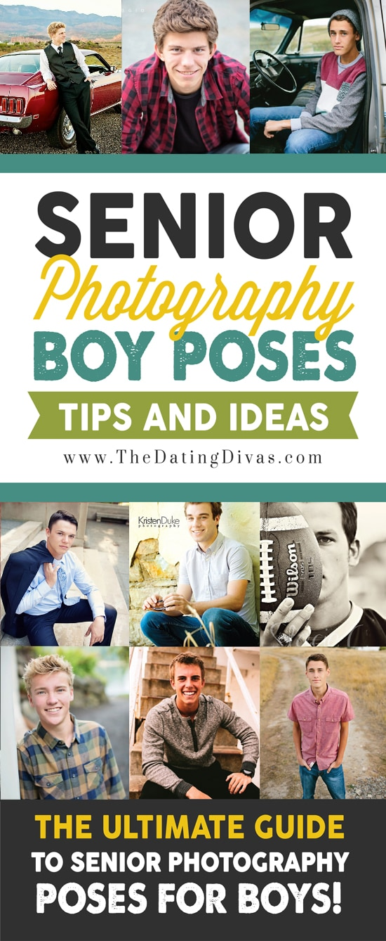 Senior Photography Pose Ideas for Guys