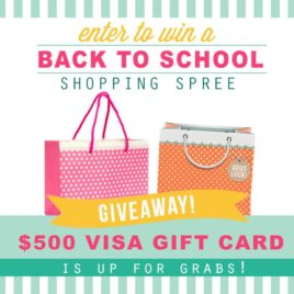 Win a Back to School Shopping Spree