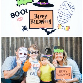 2015 October Password Post Halloween Photobooth Collage