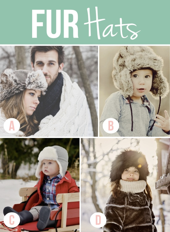 Fur Hats for Winter Photography