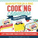 Babysitter in a Bag: Cooking Edition