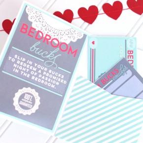 Bedroom Bucks Envelope