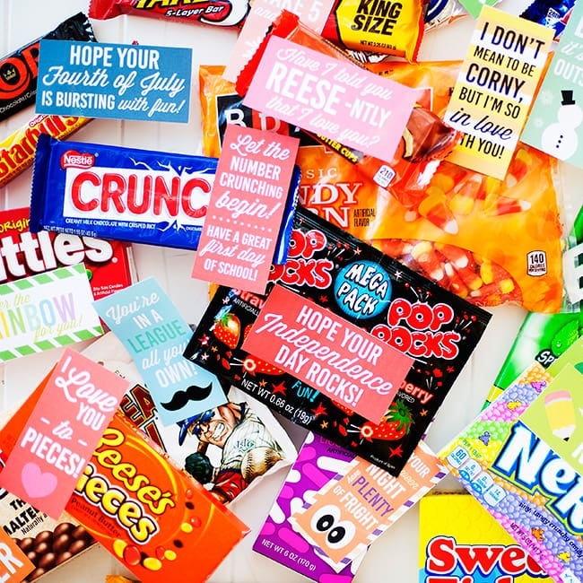 Printable Candy Gram Posters The Dating Divas