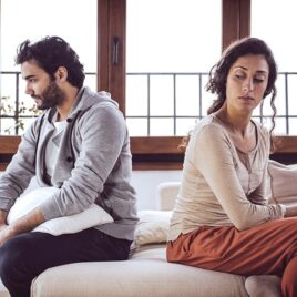 Learning how to trust your spouse again.