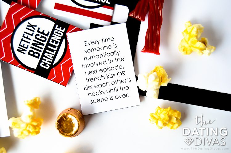 Netflix Binge Challenge Card