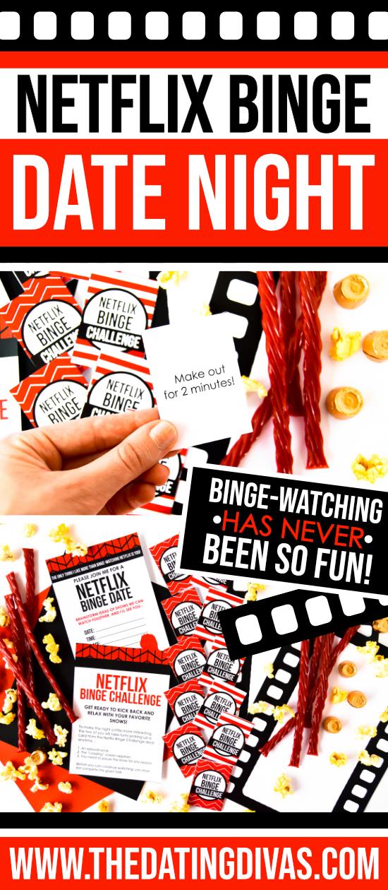 Netflix Binge Date Night #thedatingdivas
