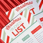 Printable Family Holiday Bucket Lists