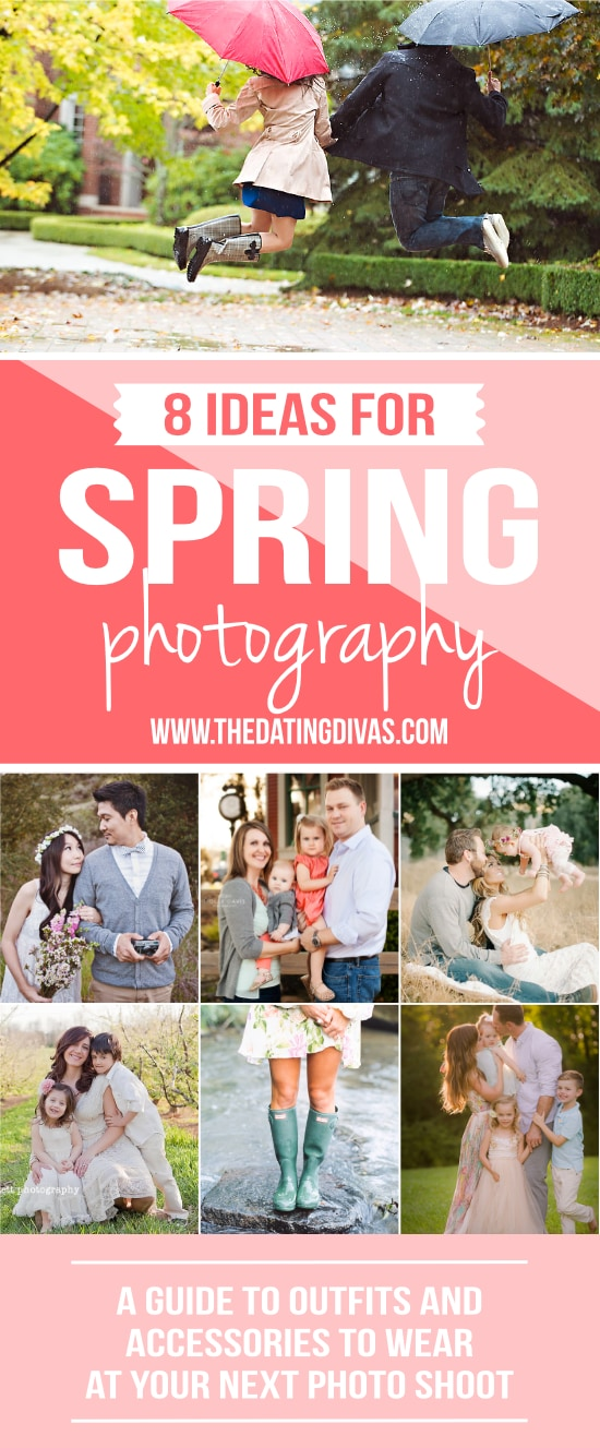 What to Wear for Spring Photography