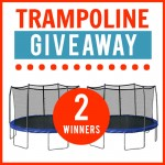 WIN a Trampoline With Enclosure!