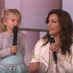Daughter Serenades Sick Mother With Martina McBride on ELLEN