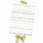 Christmas Love Lyric Prints