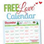 December 2015 Love Calendar