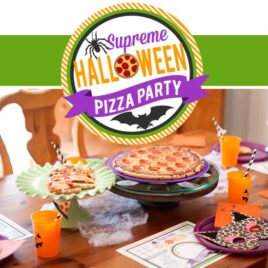 Halloween Pizza Party