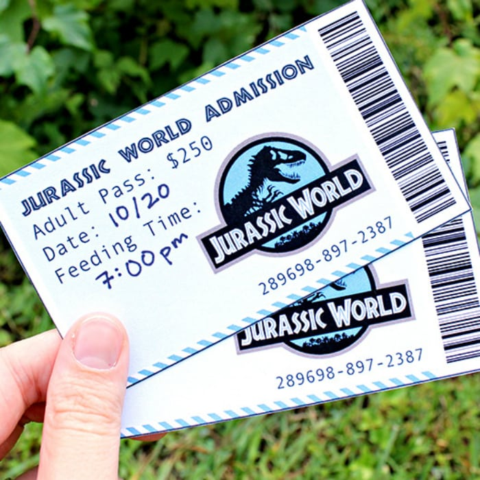 Jurassic World Movie Date Night