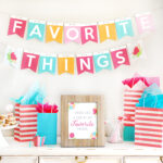 Enjoy a Favorite Things Party!