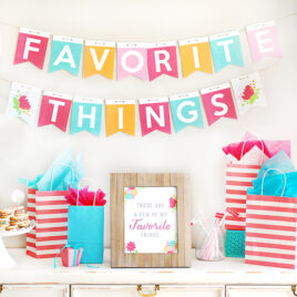 Favorite Things Gift Exchange Party