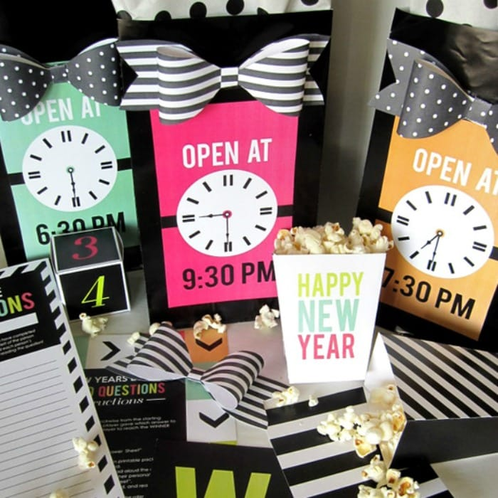 Romantic Things To Do On New Years Eve: New Years Eve Countdown Bags