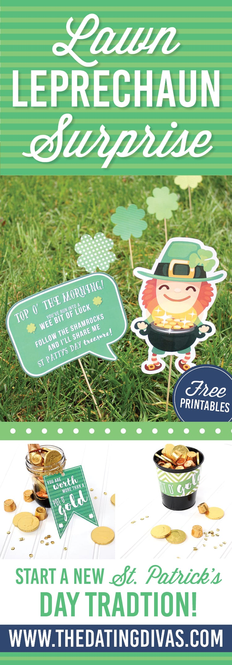 Lawn Leprechaun Surprise Ideas