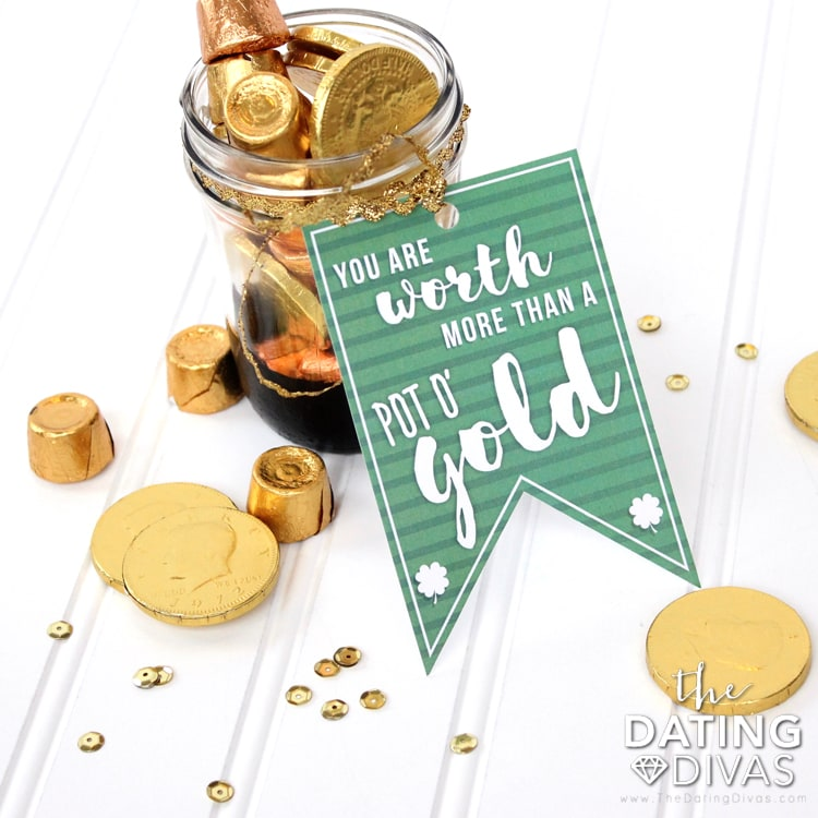 Surprise Leprechaun Idea Jar Gold
