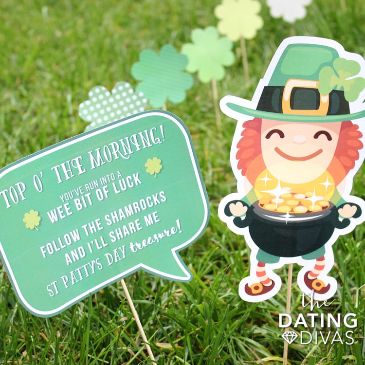 Surprise Lawn Leprechaun Idea