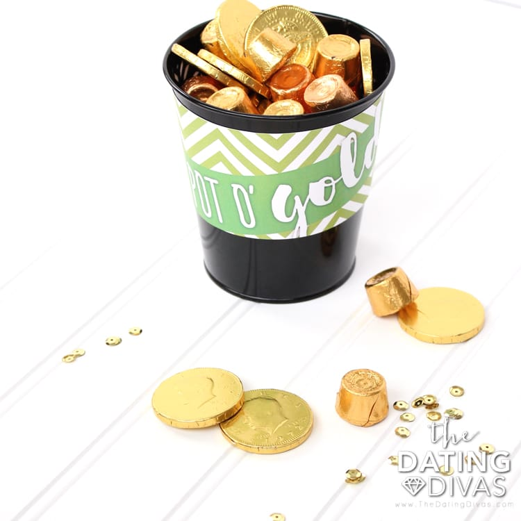 Surprise Leprechaun Idea Pot of Gold