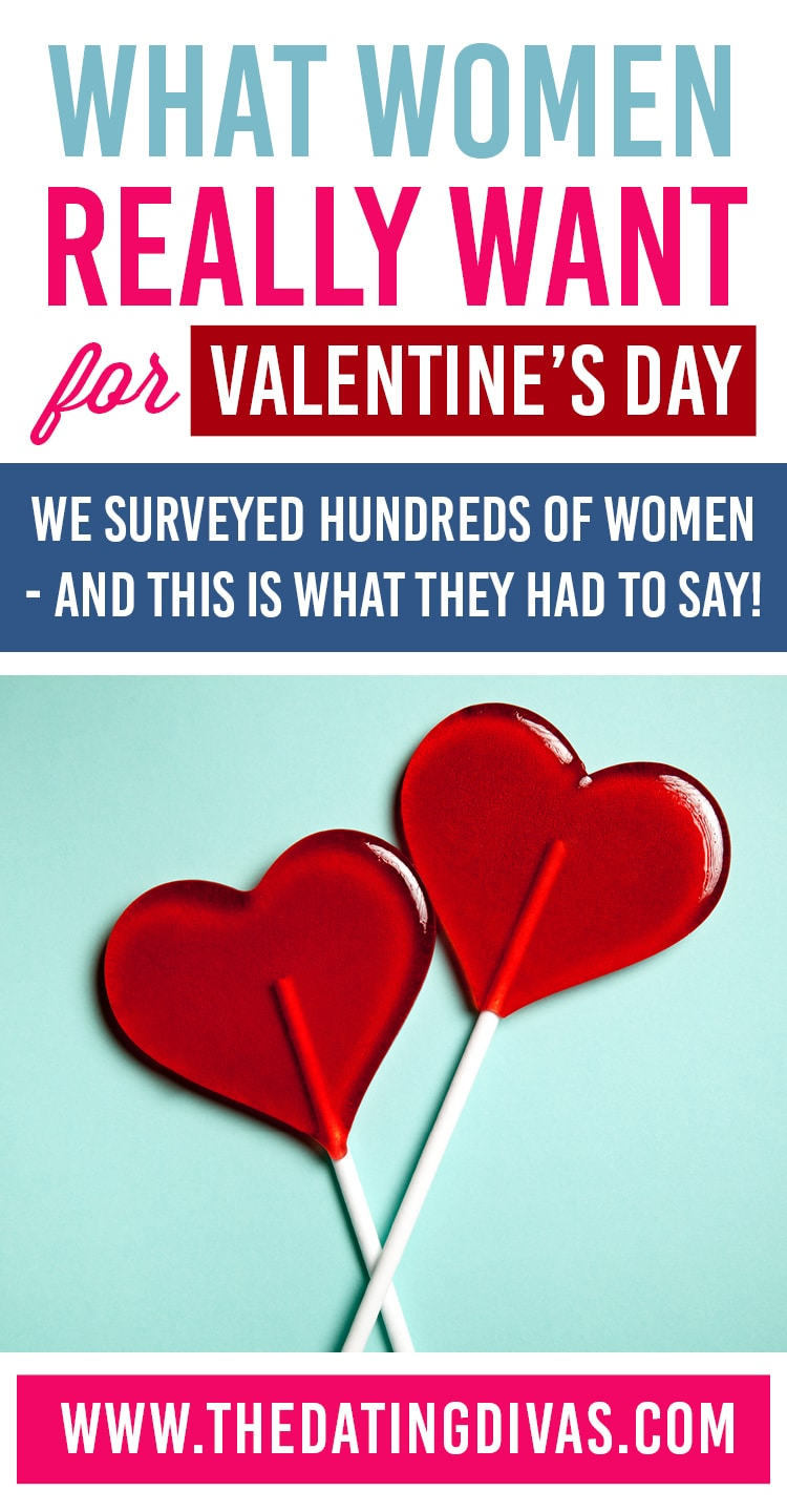 What women REALLY want for Valentine's Day! Awesome tips.