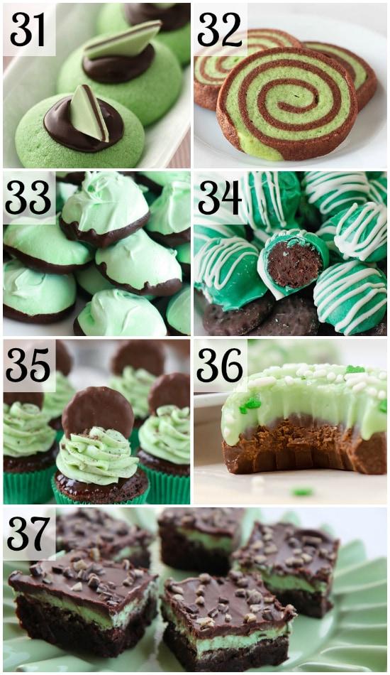 St. Patrick's Day Mint Treats