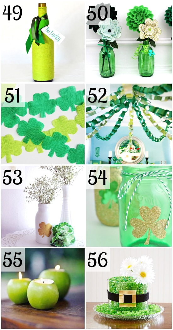 100 st patrick 39 s day party ideas the dating divas for Decoration saint patrick