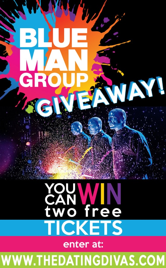 Blue Man Group Tickets Giveaway