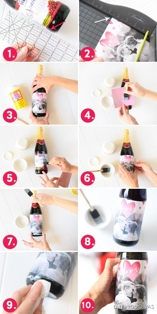 DIY Personalized Wine Bottle Label