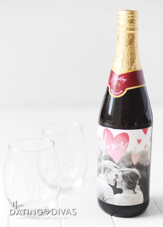 DIY Personalized Wine Label