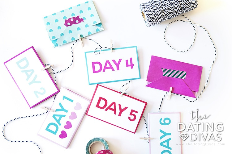 DIY Valentine's Day Countdown to Your Love