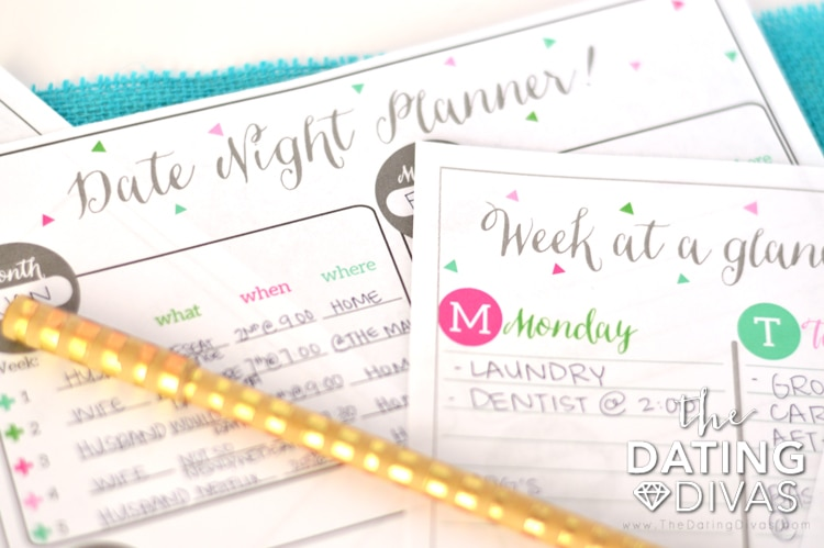 Planning Date Night With Your Spouse