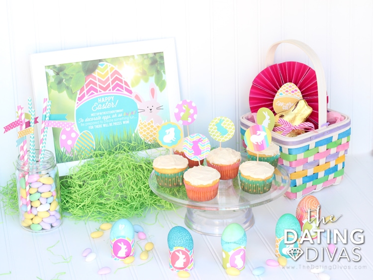 Free Printable Easter Egg Decorating Party