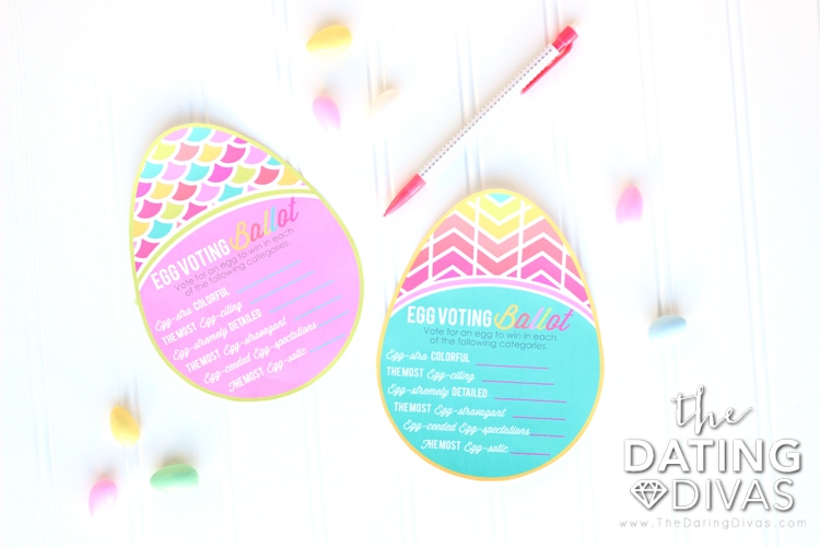 Easter Egg Decorating Printables